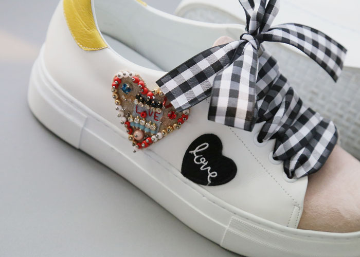love mix sneakers