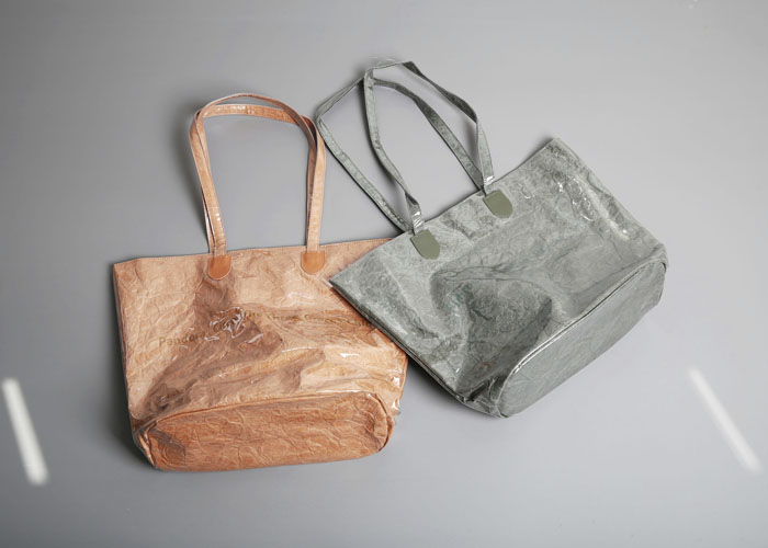 gloss shopper bag