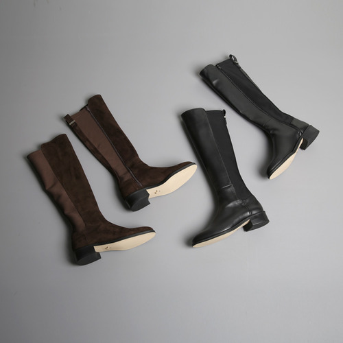 line long boots