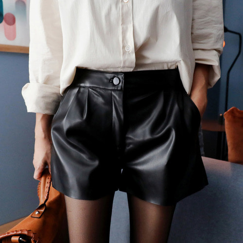 *designer line* leather cutting short PT