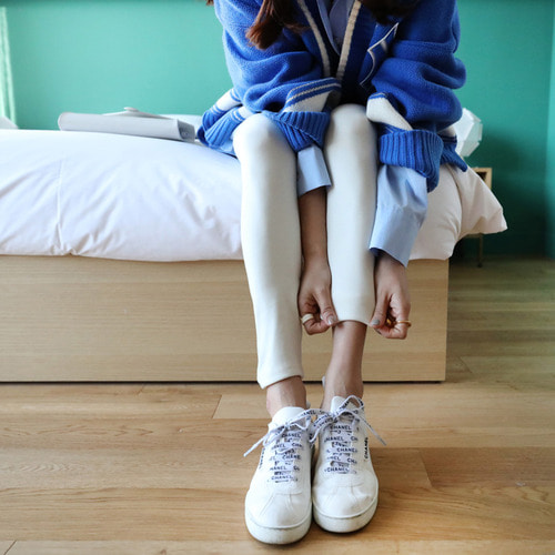 *품절*cageXsomething* daily line leggings PT*ivory*