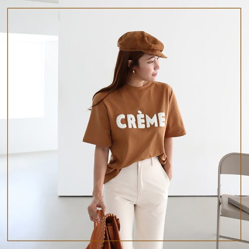 cream patch T