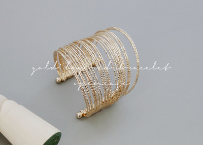 gold layered bracelet
