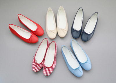 *lucky7%* pretty ribbon flat