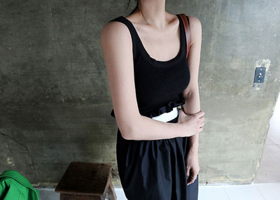 mango basic sleeveless
