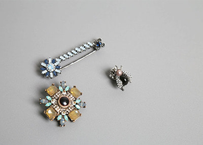 bling mix broach