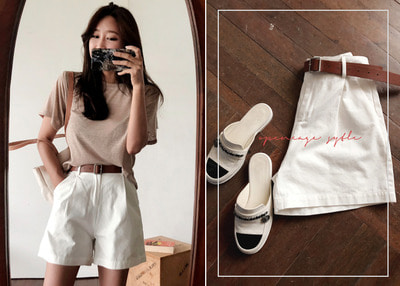 *MD추천* brown belt short PT