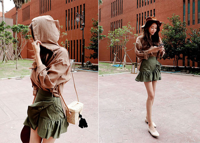 autumn frill skirt PT