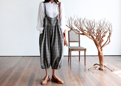 *pre-fall new*designer line* cookies & cream overall