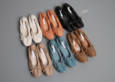 *MD추천* mellow ribbon flat