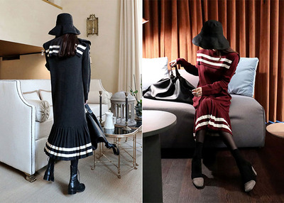 sera knit pleats OPS