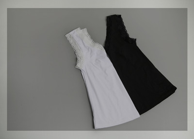 *MD추천* lace layered sleeveless