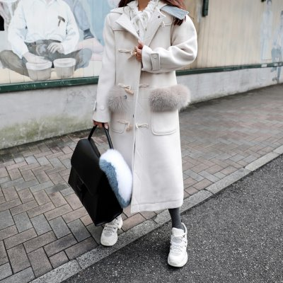*designer line* cloud fox duffle CT *white*