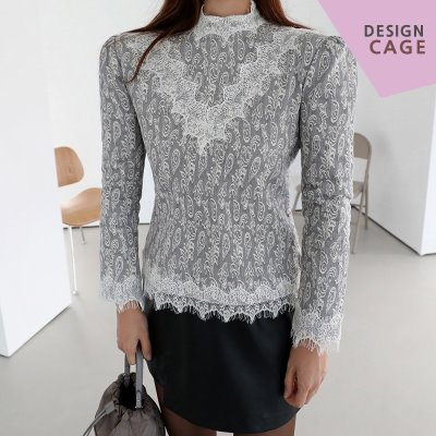 *품절*lucky7%*designer line* royal lace BL