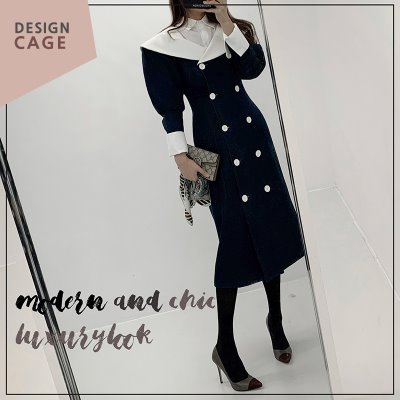 *lucky7%*designer line* hepburn AW collection OPS