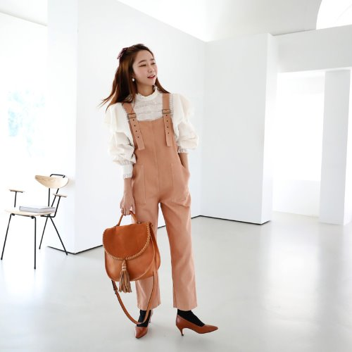 giglet overalls *apricot*